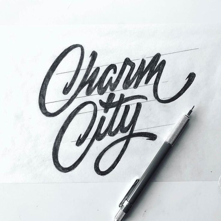 The flow in 'City' is spectacular. Lettering by @jeremyfriend –  use #typegang to be featured  –  #baltimore #pencil #typography #sketch #lettering #pen #handlettering #sketchbook #draw #pencildrawing #type #goodtype #thedailytype #calligraphy #paper...