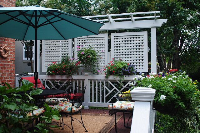 Fabulous privacy screen options for decks in Columbia SC