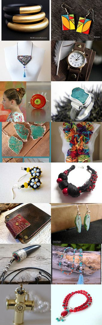 For all members on etsy Neat jewelry and some Leather by Barbara on Etsy--Pinned with TreasuryPin.com