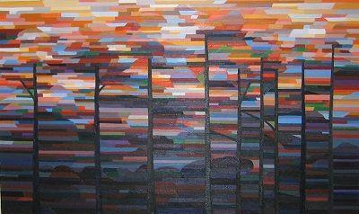 Escarpment Sunset by Andrew Peycha