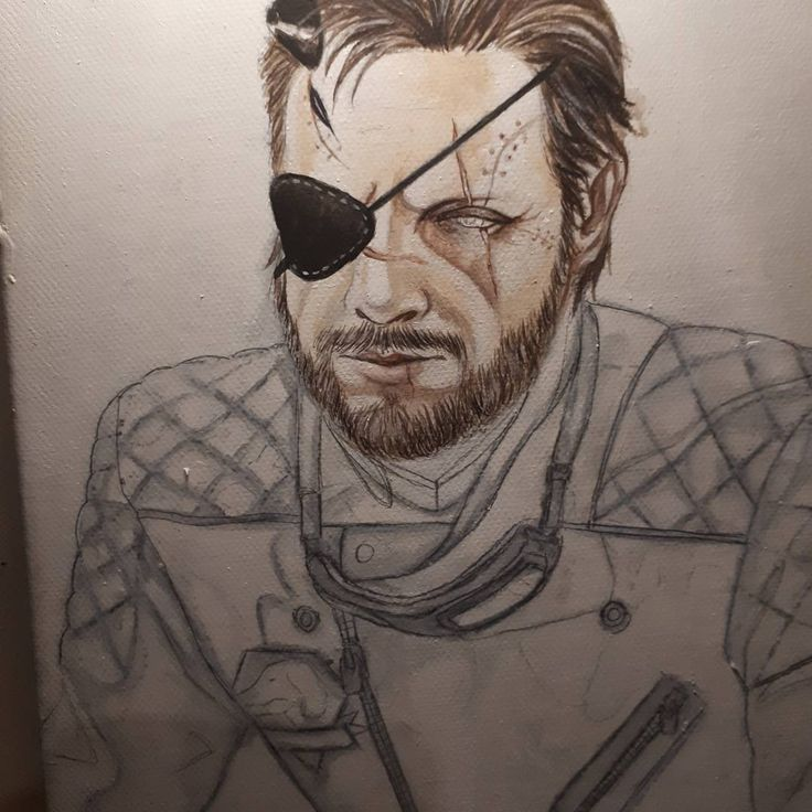 "(@candycandy362)  ""Work in progress  wish me luck with this one  #wip #bigboss #mgsv #mgs #metalgearsolid #snake…"""