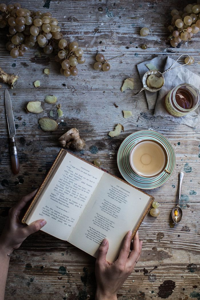 Fresh Ginger Tea - From My Dining Table by Skye McAlpine
