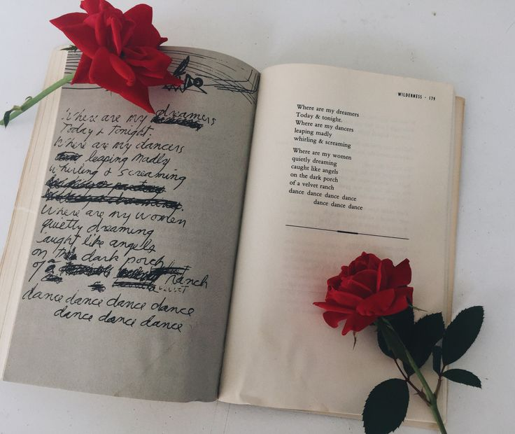 Las palabras y las poesías si pueden cambiar tu forma de pensar. ..❤❤