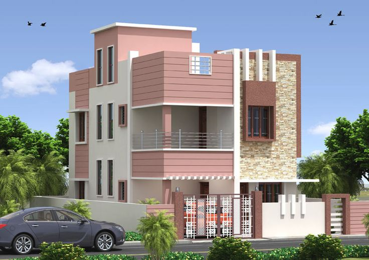 Design Elevation Of Front Parapet Wall : Best residence elevations images on pinterest home