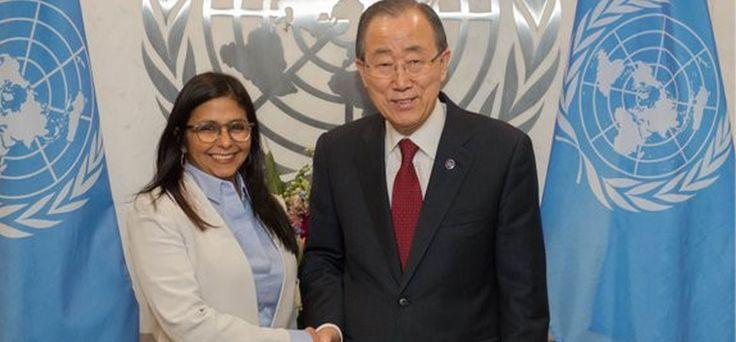 Ban Ki-moon apoya el diálogo en Venezuela - Últimas Noticias