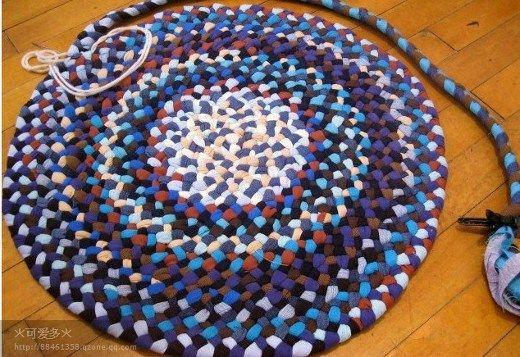 Costuras para alfombras de trenzas de 3 con formas - El blog de trapillo.com