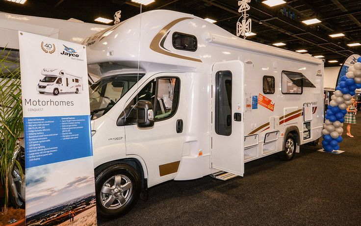 #Jayco #Australia Trade show!! New 2015 Conquest Motorhome