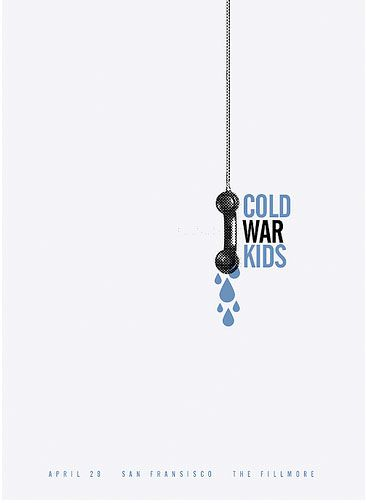 Cold War Kids are an American indie rock band from Long Beach, California. (Band poster)