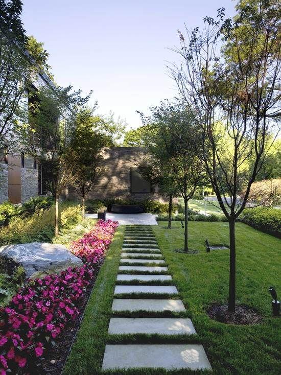 43 best ALLEE DE JARDIN images on Pinterest Gardening, House porch - banc de jardin en pierre