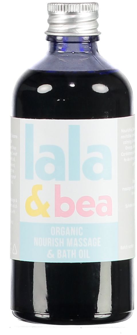 Organic Nourish oil, ideal for baby dry skin or stretch marks, made in Britain