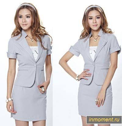 Мода костюм платье