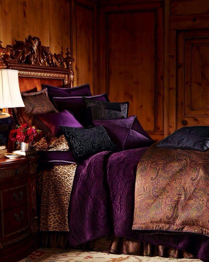 Ralph Lauren bedding paisley print bedding