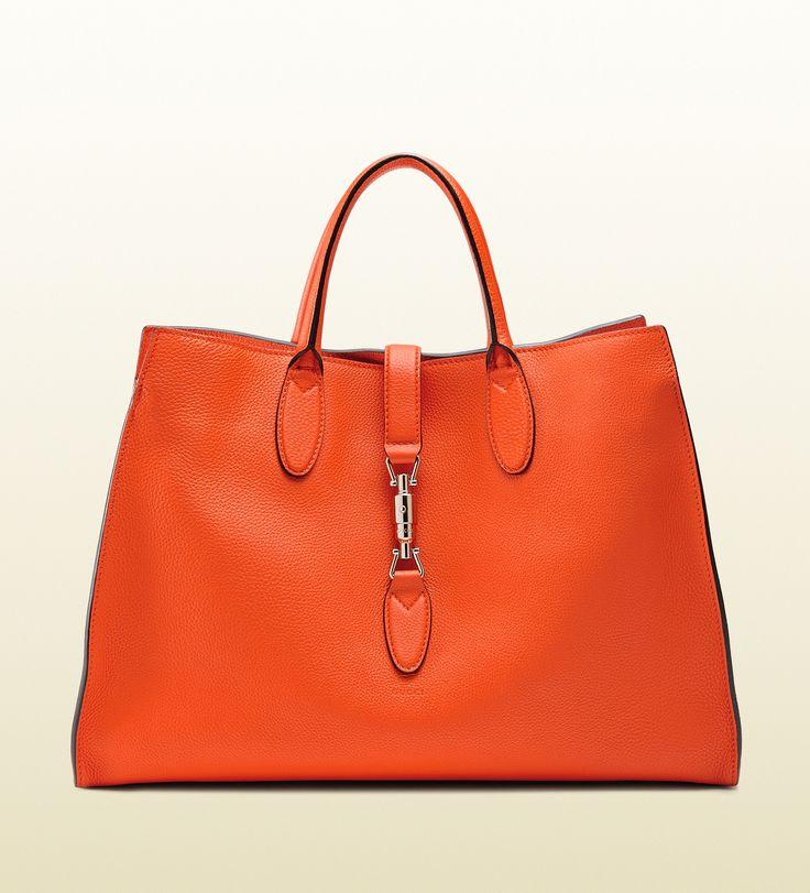 Gucci - jackie soft leather top handle bag 362970AZB0N7523