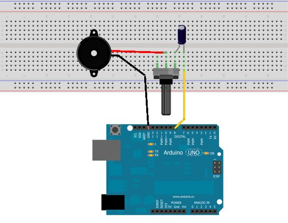 how to use tone function arduino playing the james bond