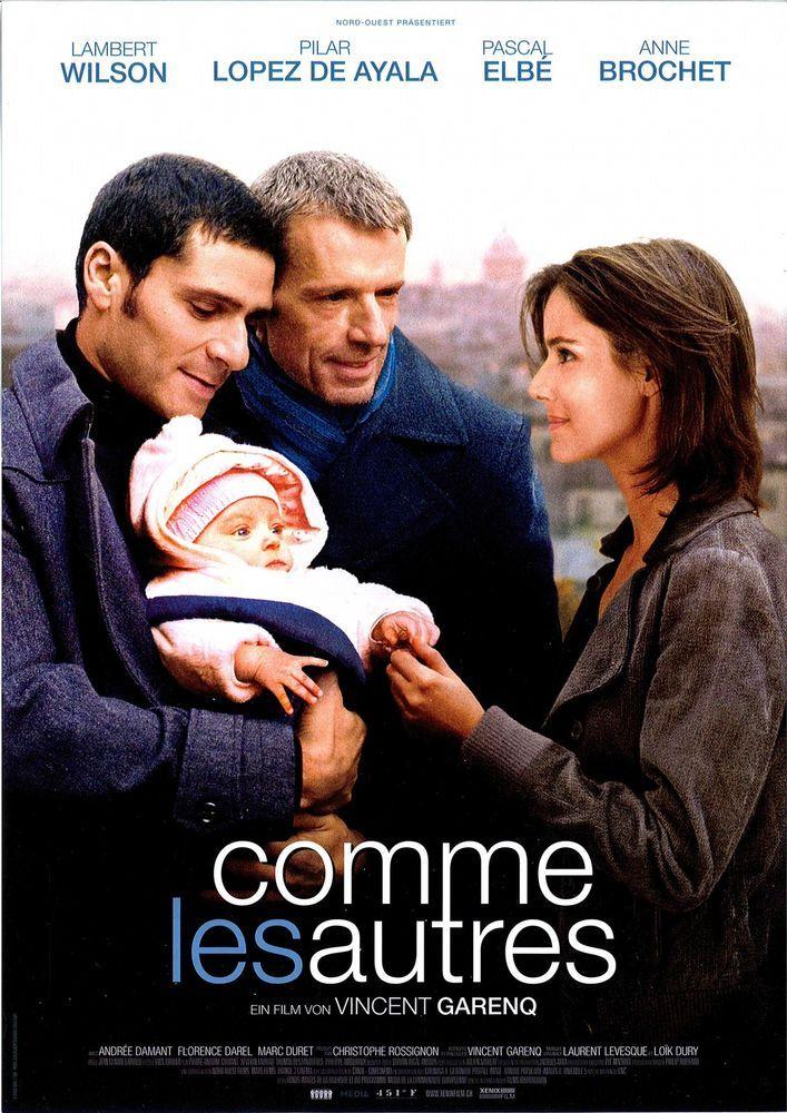 COMME LESAUTRES - 2008 - FILMPOSTER A4 - VINCENT GARENQ