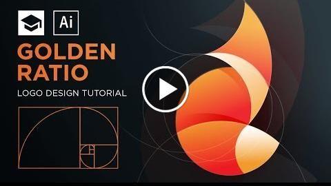 How to design a logo with golden Ratio #3 Adobe Illustrator Tutorial