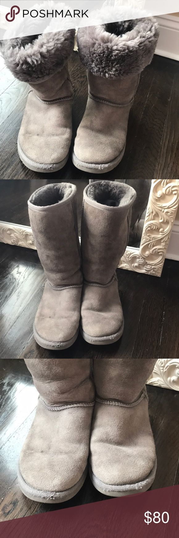 Uggs boot Original Ugg Australia tall gray boot UGG Shoes Winter & Rain Boots