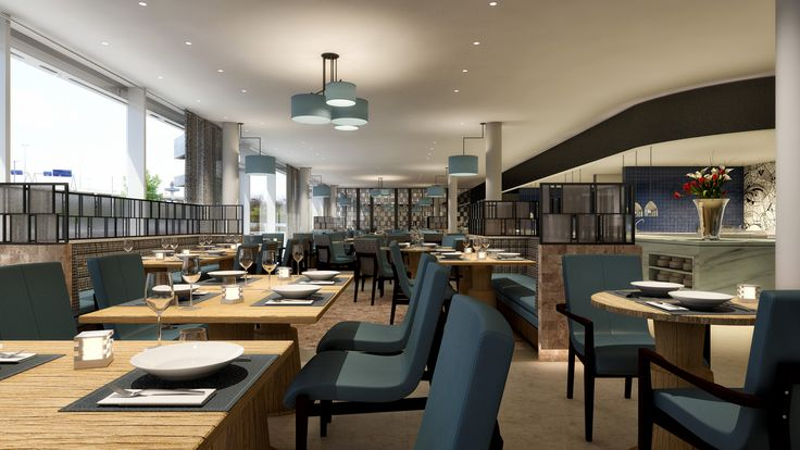 SCHIPHOL CBD * THE NEW HILTON SCHIPHOL * Business lunches and dining in the new all day restaurant. Ready: 4th quarter 2015.