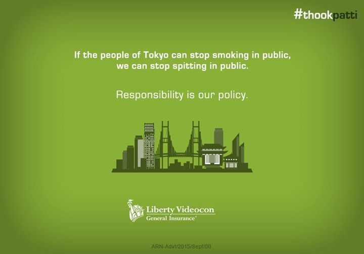 If Tokyo can commit and succeed in keeping its air clean, we too can stop public spitting.  #ThookPatti