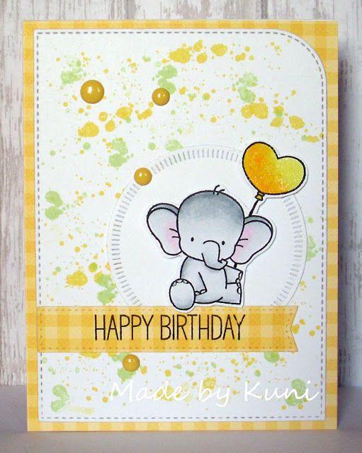 Kunis Bastelblog: ein süßer Elefant
