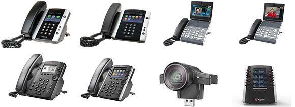 Polycom VVX Business Media Phones
