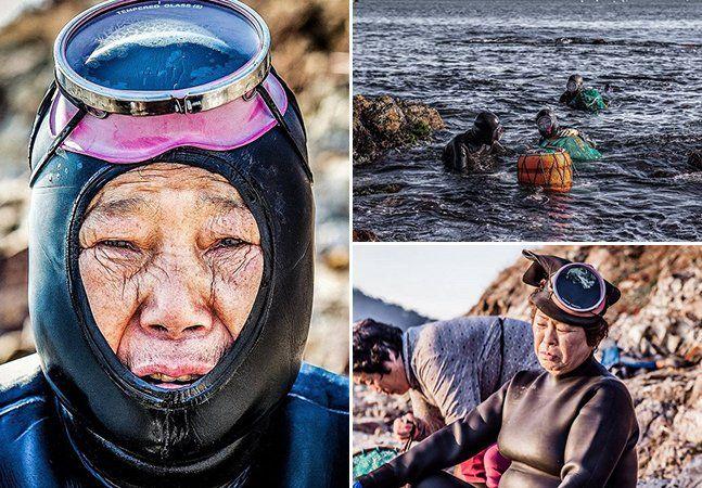 A província de Jeju, na Coreia do Sul, se tornou famosa por ter uma das rotas aéreas mais cheias do mundo no voo que liga Jeju à Seul. Mas este não é o único segredo desta ilha, que resguarda mulheres com um talento único, conhecidas localmente comoHaenyo. Essas mulheres da meia idade são capazes de nadar em profundidades de até 20 metros para chegar ao fundo do oceano. É lá que elas recolhemolmos do mar, ouriços, pepinos do mar e lulas sem usar tanques de oxigênio, o que requer que…