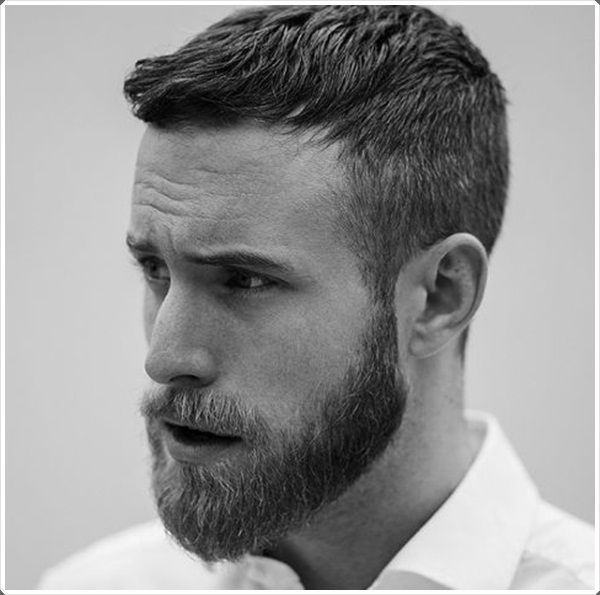 40 Must Copying Hairstyles For Men With Beard - Men's Fashion 2016                                                                                                                                                                                 More