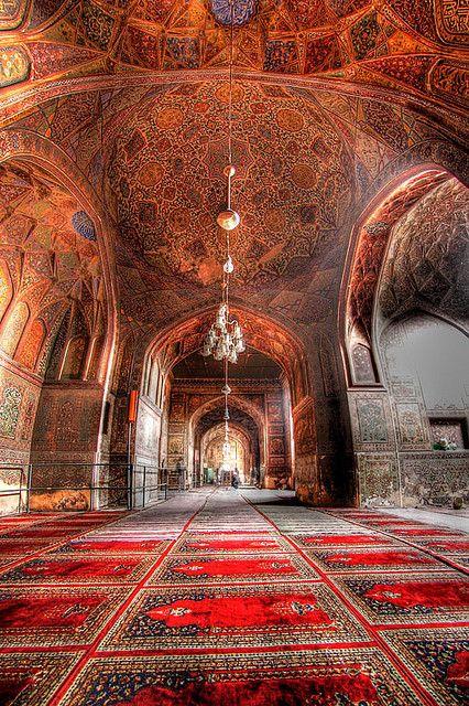 Inside Masjid Wazir Khan