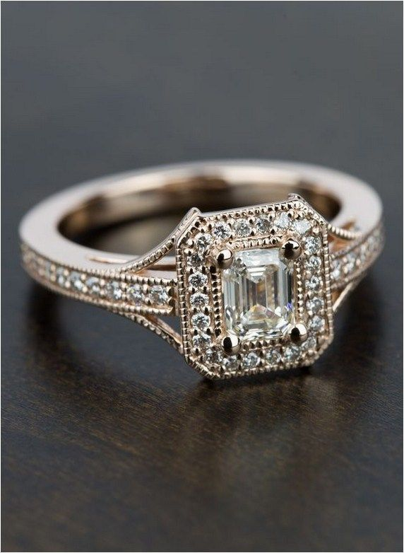 40 Ideas For Antique Engagement Rings Vintage Fairytale Wedding