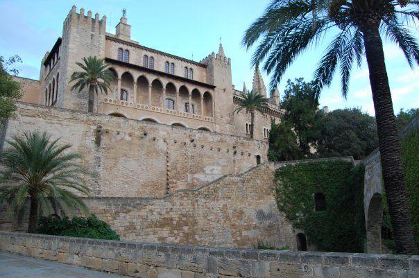 Palau de l'Almudaina - Palma de Mallorca, Mallorca, España
