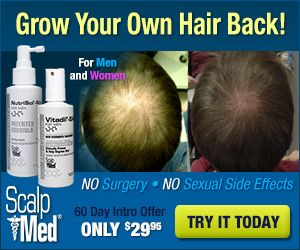 Scalp Med Hair Growth Win the Battle of Baldness - Scalp Med is a new hair growth solution that offers real results without any side effects.