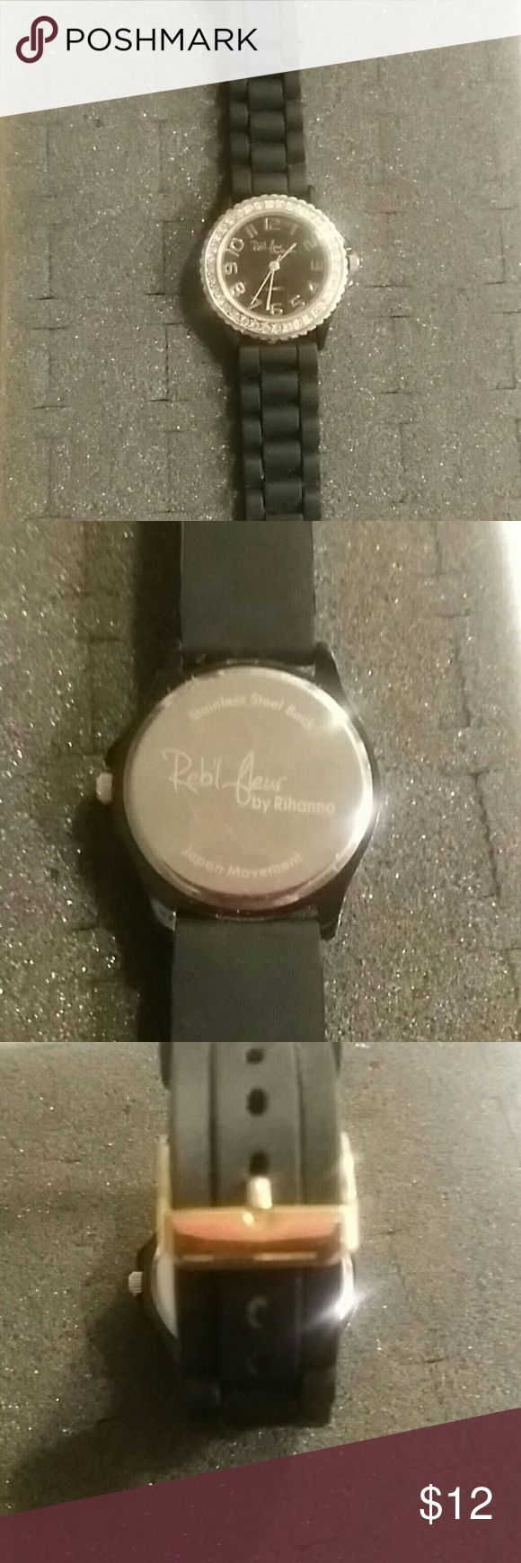 Rihanna watch Reb'l fleur watch by Rihanna. Like new Accessories Watches