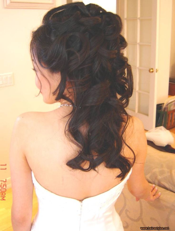 Image detail for -wedding half up hairdos pictures, wedding half up hairdos photos