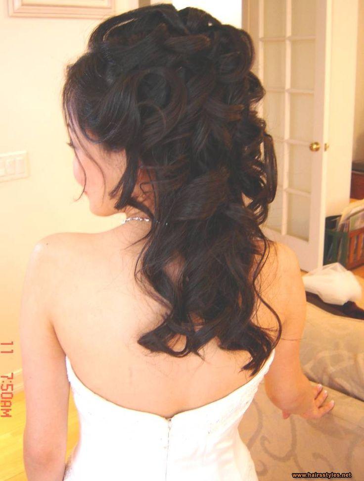 Image detail for -wedding half up hairdos pictures, wedding half up hairdos photos
