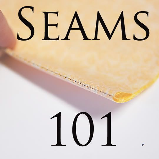 Image links to page with links to lots of sewing tutorials: seams, darts, smocking, pleats and more.