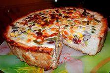 пирог с гавайской начинкой