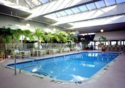 Indoor pool, Clarion Resort Fontainebleau Hotel in Ocean City MD