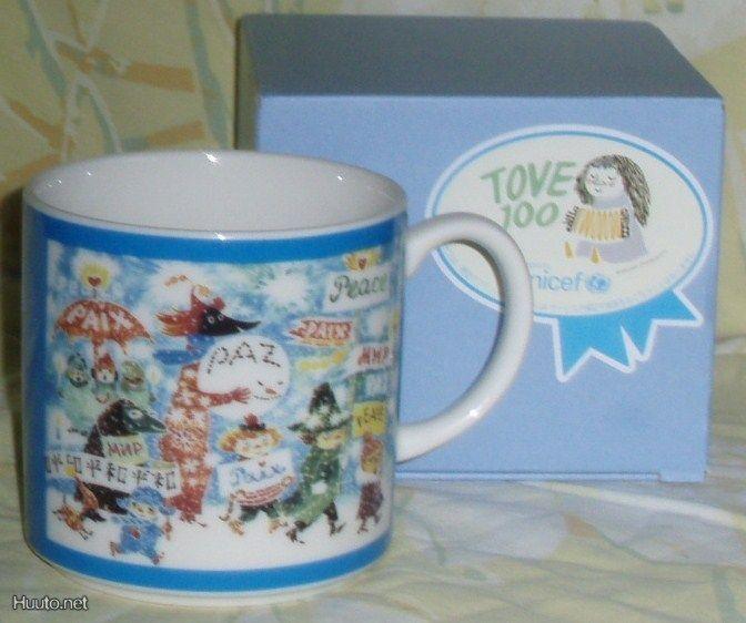 Yamaka Moomin Tove 100 muki