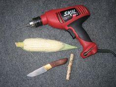 how to make a corn cob pipe                                                                                                                                                                                 More