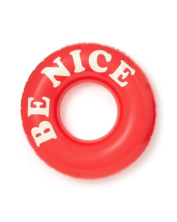 float on giant innertube - be nice from ban.do