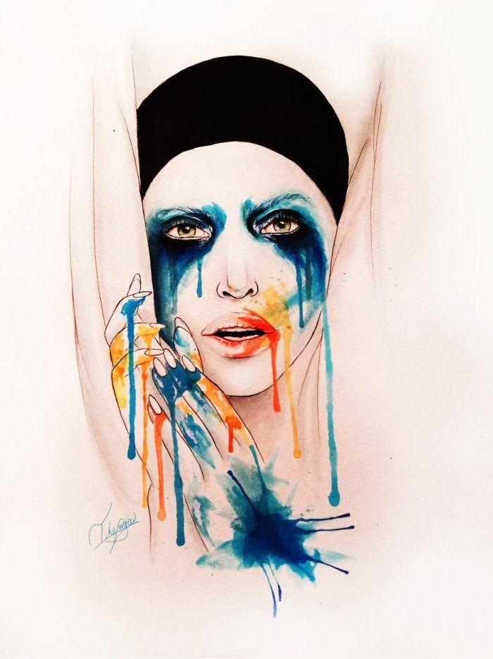Lady Gaga LittleMonsters | Backplane - APPLAUSE LIKE PIERROT - Lady Gaga LittleMonsters - Backplane