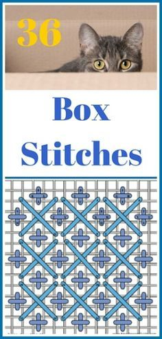 36 Needlepoint, Canvas Box Stitches                                                                                                                                                      More
