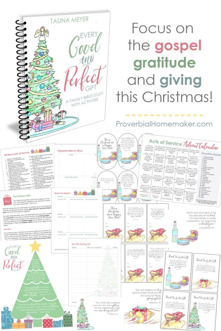 Every Good And Perfect Gift Writing Thank You Cards Advent Activities Meaning Of Christmas