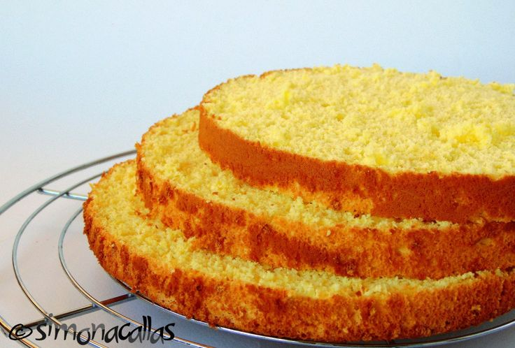 Lemon Italian Sponge Cake (Lemon Pan di Spagna)
