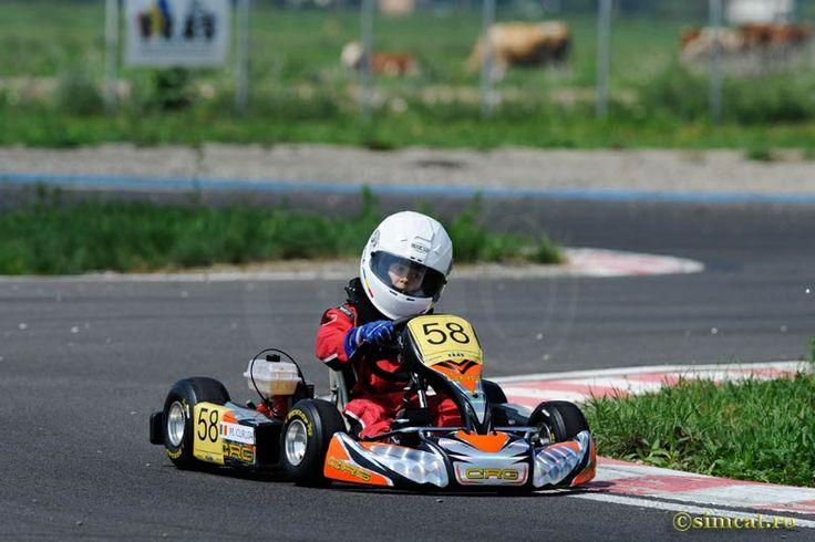 #Matia58 Romanian National Vice-champion Kid Kart 2013 - FRAS #kidkart #karting #crg #58 #matiacuruia #prejmercircuit