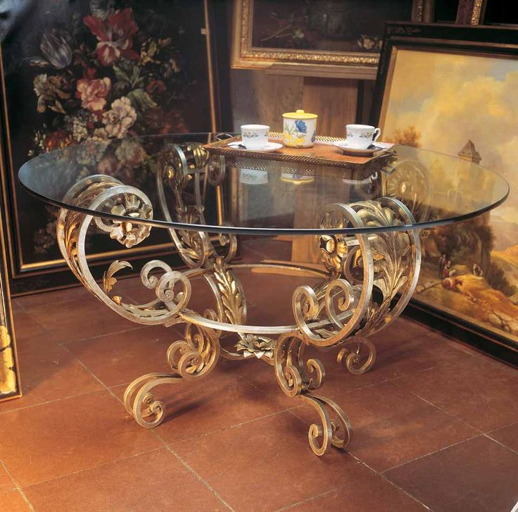348 best tables images on pinterest | iron, wrought iron and