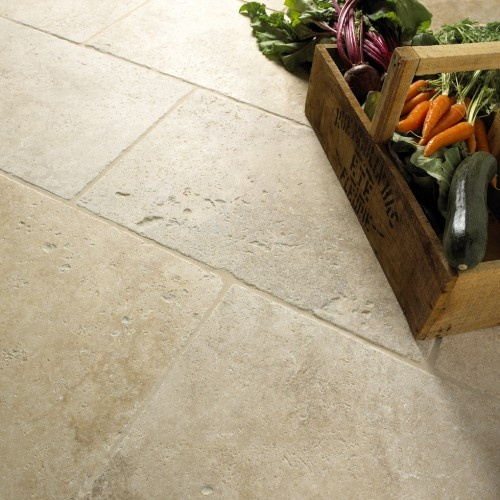 Mandarin Stone classic beige travertine at 26.35/m