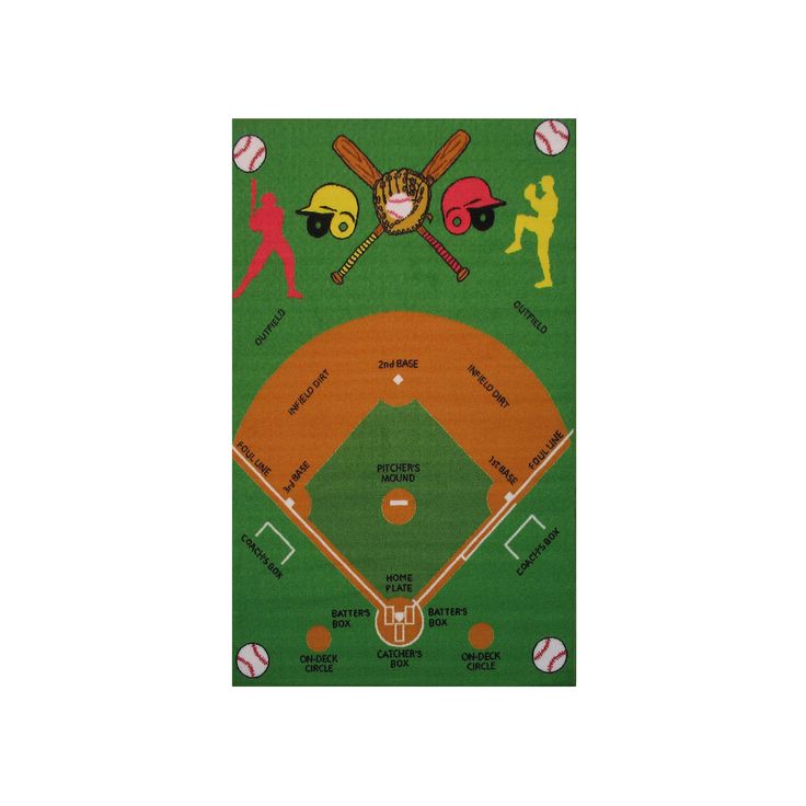 Play Rug Boys Football Pitch Childrens Rug Green: 25+ Best Ideas About Baseball Field On Pinterest