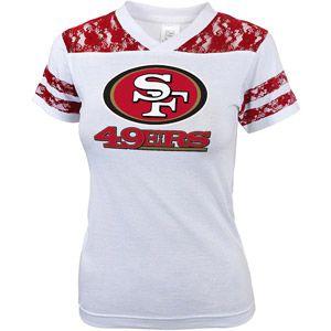 NFL Girls' San Fransico 49Ers Short Sleeve Tee