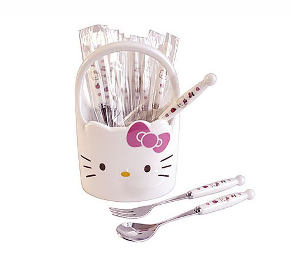 17 mejores im genes sobre hello kitty kitchen for Utensilios de cocina hello kitty